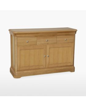 TCH Lamont Dining Small 2 Door 3 Drawer Sideboard