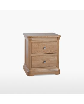 TCH Lamont Bedroom Large 2 Drawer Bedside