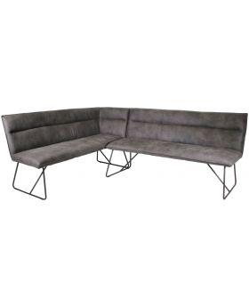Classic Larson Upholstered Corner Bench - Left Hand
