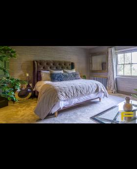 Furmanac Luna Upholstered Bed Frame