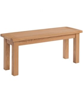 Devonshire Wessex Oak 104Cm Bench