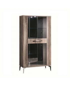 Matera Dining 2 Door Curio Cabinet