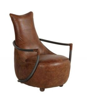 Maverick Leather Retro Relax Chair
