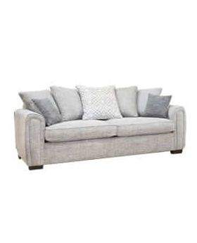 Memphis 2 Seater Sofa Bed Regal (Pillow Back) in XE Fabric