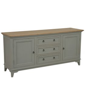 Classic Furniture Normandy 2 Door 3 Drawer Sideboard