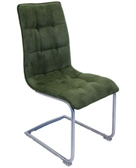 Pair of Classic Nova Dining Chairs - Green