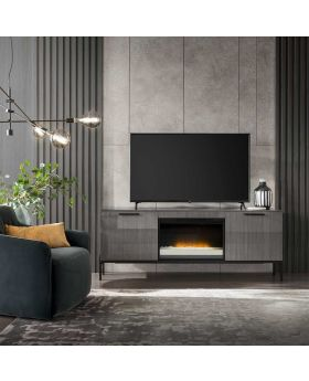 Novecento Dining TV Base For Fireplace