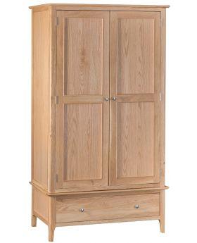Kettle NT Bedroom Large 2 Door Wardrobe