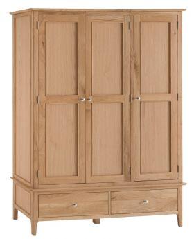 Kettle NT Bedroom Large 3 Door Wardrobe
