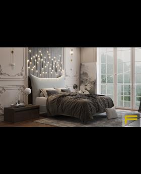 Furmanac Pillow Upholstered Bed Frame