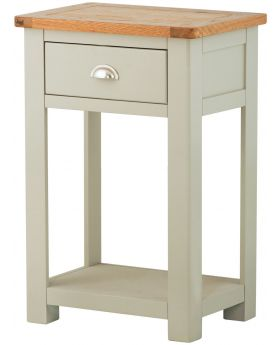 Classic Furniture Portland Small Console Table-stone