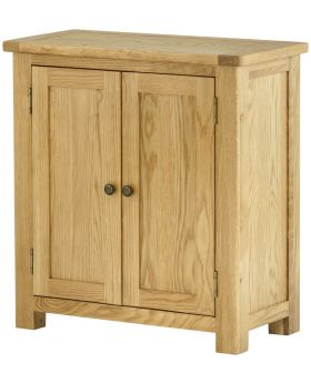 Classic Furniture Portland 2 Door Cabinet-oak
