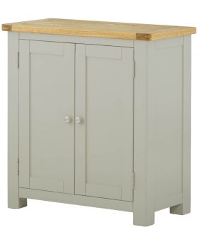 Classic Furniture Portland 2 Door Cabinet-stone