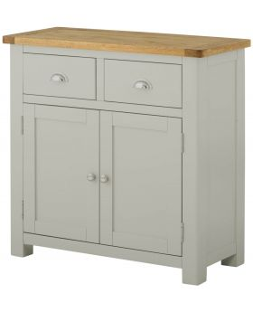 Classic Furniture Portland 2 Door Sideboard-stone