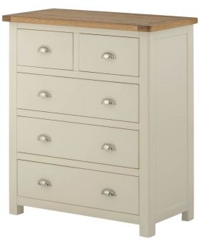 Classic Furniture Portland 2 over 3 Chest-cream