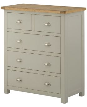 Classic Furniture Portland 2 over 3 Chest-stone