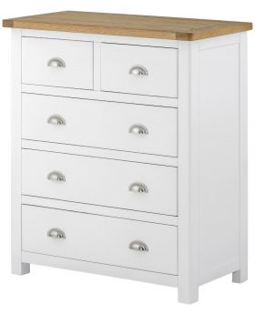 Classic Furniture Portland 2 over 3 Chest-white