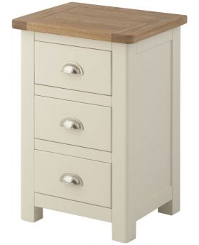 Classic Furniture Portland Bedside Cabinet-cream