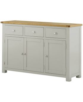 Classic Furniture Portland 3 Door Sideboard-stone
