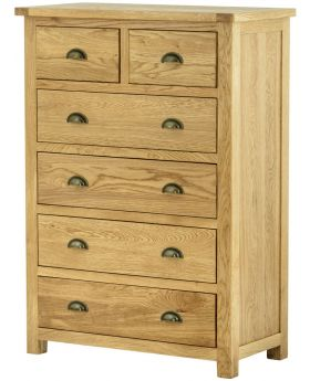 Classic Furniture Portland 2 over 4 Chest-oak