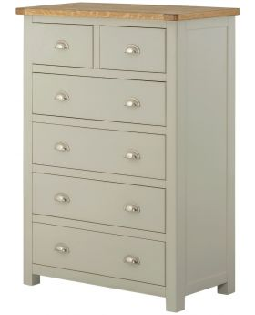 Classic Furniture Portland 2 over 4 Chest-stone