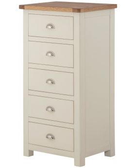 Classic Furniture Portland Wellington Chest-cream