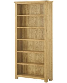 Classic Furniture Portland Large Bookcase-oak