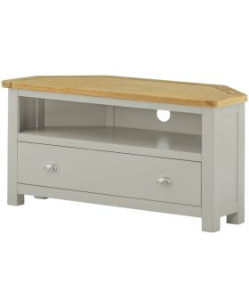 Classic Furniture Portland Corner TV Cabinet-stone