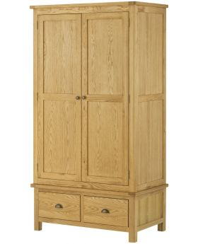 Classic Furniture Portland Gents Wardrobe-oak