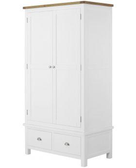 Classic Furniture Portland Gents Wardrobe-white