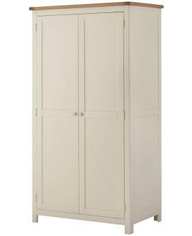 Classic Furniture Portland 2 Door Wardrobe-cream