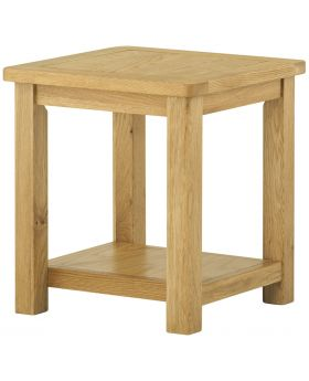 Classic Furniture Portland Lamp Table-oak