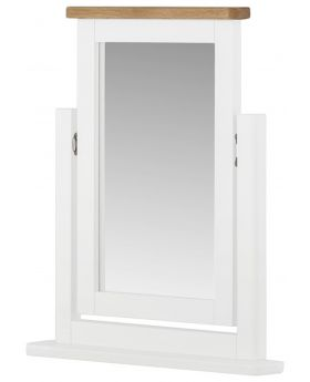 Classic Furniture Portland Dressing Table Mirror-white