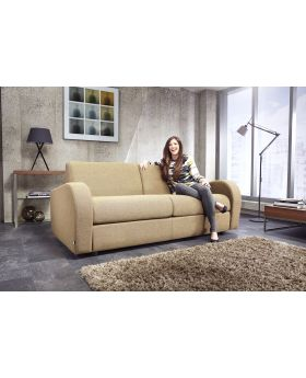 JayBe Sofabed Retro 3 Seater with Deep Sprung Mattress