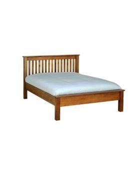 "Devonshire Rustic Oak 4'6"" L.F.E Bed"