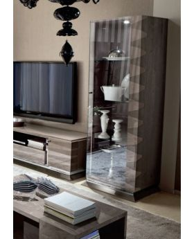 ALF Monaco 1 Door Curio Right Display Unit