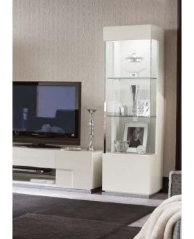 ALF Canova 1 Door Curio Right Display Unit