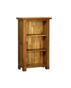 Devonshire Rustic Oak 3' Narrow Bookcase