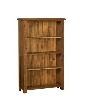 Devonshire Rustic Oak 5' Bookcase