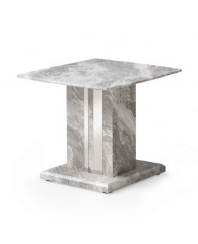 Amalfi Marble Lamp Table