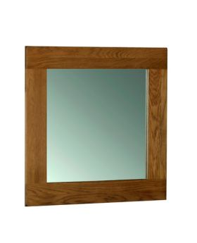 Devonshire Rustic Oak Wall Mirror 900 * 900