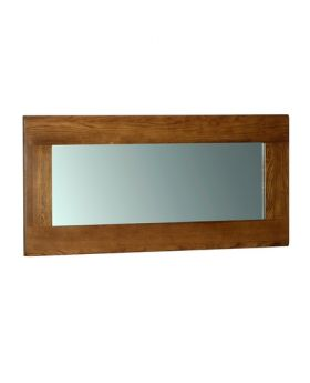 Devonshire Rustic Oak Wall Mirror 1300 * 600