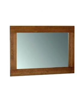 Devonshire Rustic Oak Wall Mirror 1300 * 900
