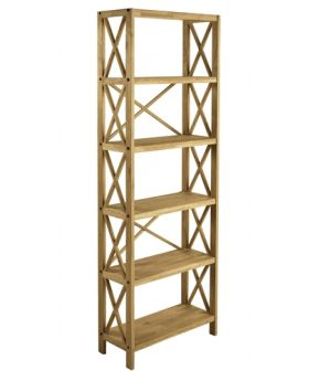 Unique Royal Oak 6 Shelf Tier Shelf Unit
