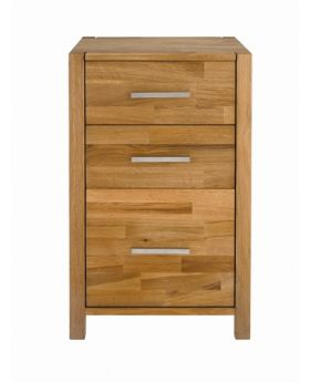Unique Royal Oak Home office Chest 2 + 1 Drawer