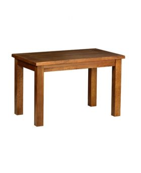 "Devonshire Rustic Oak 4' X 2'6"" Fixed Top Table"