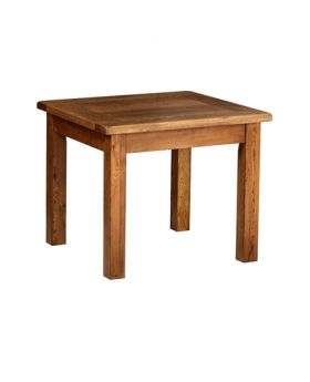 Devonshire Rustic Oak 3' X 3' Fixed Top Table