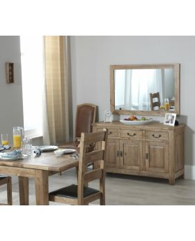 Carlton Rustic Manor 3 Door Sideboard