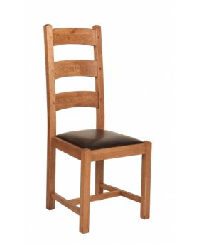 Carlton Rustic Manor Dining Chair Bi-Cast Assembled