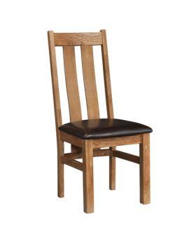Devonshire Rustic Oak Arizona Chair